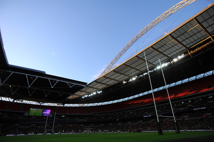General view of the Killik Cup match between Barbarians and South Africa at Wembley Stadium on Saturday 5th November 2016 (Photo by Rob Munro)