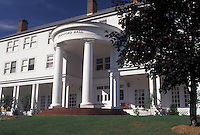 AJ4531, college, military, Vermont, Crawford Hall on the campus of Norwich University, America's first private military college in Northfield in Washington County in the state of Vermont.