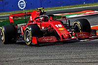 4th September 2020; Autodromo Nazionale Monza, Monza, Italy ; Formula 1 Grand Prix of Italy, free practise sessions;  16 Charles Leclerc MCO, Scuderia Ferrari Mission Winnow
