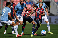 Nicolas Dominguez of Bologna FC in action during the Serie A football match between Bologna FC and SS Lazio at Renato Dall'Ara stadium in Bologna (Italy), October 3rd, 2021. Photo Andrea Staccioli / Insidefoto