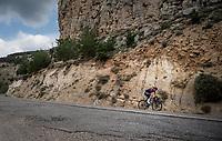 Wout Poels (NED/Ineos)<br /> <br /> Stage 6: Mora de Rubielos to Ares del Maestrat (199km)<br /> La Vuelta 2019<br /> <br /> ©kramon