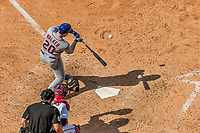 30 April 2017: New York Mets second baseman Neil Walker at bat in the 7th inning against the Washington Nationals at Nationals Park in Washington, DC. The Nationals defeated the Mets 23-5 in the third game of their weekend series. Mandatory Credit: Ed Wolfstein Photo *** RAW (NEF) Image File Available ***
