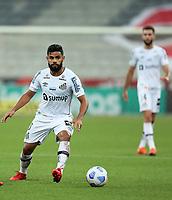 25th August 2021; Arena da Baixada, Curitiba, Brazil; Brazil Cup, Athletico Paranaense versus Santos; Felipe Jonatan of Santos