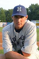 Ryan Zimmerman of the Harrisburg Senators during the 2005 season.  (Mike Janes/Four Seam Images)