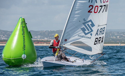 Robert Scheidt from Brazil is back in contention in Vilamoura