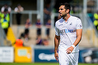 Jordi Amat of Swansea City in action during the Pre Season friendly match between Swansea City and Rovers played at the Memorial Stadium, Bristol on July 23rd 2016