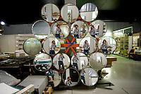 Airlight Energy, Biasca, concentratore multifaccia di poliestere aluminizzato