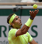Rafael Nadal (ESP) defeated Yannick Hanfmann (GER) 6-2, 6-1, 6-3