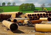 Pipeline near Skipton.