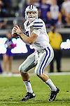 Kansas State Wildcats quarterback Collin Klein (7) in action during the game between the Kansas State Wildcats and the TCU Horned Frogs at the Amon G. Carter Stadium in Fort Worth, Texas. Kansas State defeats TCU 23 to 10....