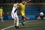 Wallsend Boys Club (in yellow) vs HKFC Chairman's Select (in white) during their Masters Tournament match, part of the HKFC Citi Soccer Sevens 2017 on 26 May 2017 at the Hong Kong Football Club, Hong Kong, China. Photo by Chris Wong / Power Sport Images