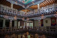 Bhutan, Paro, Zhiwa Ling Hotel.