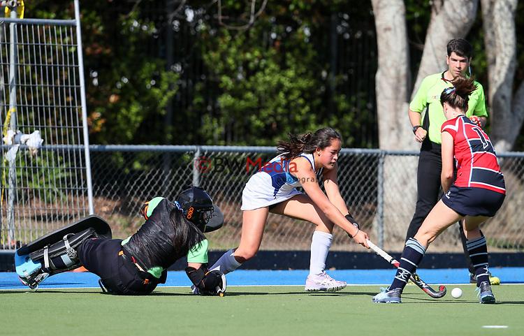 Federation Cup Hockey, Lloyd Elsmore Park, Auckland, New Zealand, Monday 2 September 2019. Photo: Simon Watts/www.bwmedia.co.nz/HockeyNZ