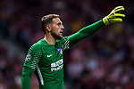 Goalkeeper Jan Oblak of Atletico de Madrid in action during the UEFA Champions League 2017-18 match between Atletico de Madrid and Chelsea FC at the Wanda Metropolitano on 27 September 2017, in Madrid, Spain. Photo by Diego Gonzalez / Power Sport Images