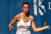 September 03, 2014,Netherlands, Alphen aan den Rijn, TEAN International, Qurinine Lemoine (NED)<br /> Photo: Tennisimages/Henk Koster