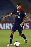 Football, Serie A: AS Roma - Hellas Verona Fc, Olympic stadium, Rome, July 15, 2020. <br /> Roma's Lorenzo Pellegrini in action during the Italian Serie A football match between Roma and Hellas Verona at Rome's Olympic stadium, on July 15, 2020. <br /> UPDATE IMAGES PRESS/Isabella Bonotto
