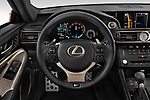 Car pictures of steering wheel view of a 2017 Lexus RC F-GT 2 Door Coupe Steering Wheel