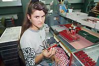- the factory of the famous multi-purpose Victorinox knives....- la fabbrica dei famosi coltelli multiuso Victorinox