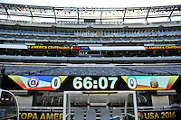 East Rutherford, NJ. - June 26, 2016: Argentina vs Chile prior the final match for Copa America Centenario USA 2016 at MetLife Stadium.