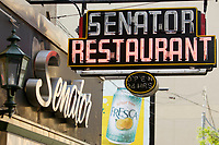Senator restaurant, 249 Victoria St. in downtown Toronto.<br />