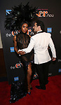 Marija Juliette Abney and Christopher Gattelli Attends the After Party for the Broadway Opening Night  of 'The Cher Show' at Pier 60 on December 3, 2018 in New York City.