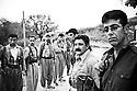 Iraq 2010 .In a camp of Komala , training of new Iranian recruits   .Irak 2010 .Nouvelles recrues du Komala d'Iran dans un camp d'entrainement pres de Souleimania