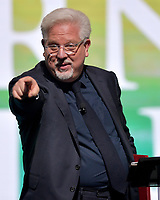 WEST PALM BEACH, FL - DECEMBER 19: Glenn Beck speaks at the 2019 Turning Point USA Student Action Summit - Day 1 at the Palm Beach County Convention Center on December 19, 2019 in West Palm Beach, Florida.<br /> <br /> <br /> People:  Glenn Beck