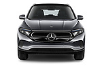 Car photography straight front view of a 2021 Mercedes Benz EQA 250-Business 5 Door SUV Front View