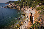 Monument Cove near Otter Point in Acadia National Park,  Downeast ME
