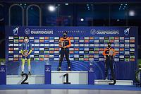 SPEEDSKATING: HEERENVEEN: 16-01-2021, IJsstadion Thialf, ISU European Speed Skating Championships, Nils van der Poel, ©photo Martin de Jong