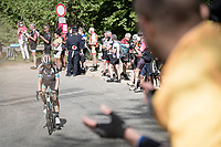 Mikel Nieve (ESP/BikeExchange) up the final climb of the day; the Alpe di Mera (1560m)<br /> <br /> 104th Giro d'Italia 2021 (2.UWT)<br /> Stage 19 from Abbiategrasso to Alpe di Mera (Valsesia)(176km)<br /> <br /> ©kramon
