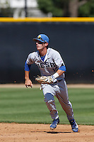 Brandon Trinkwon #16 of the UC Santa Barbara Gauchos in the field during a game against the Cal State Northridge Matadors at Matador Field on May 10, 2013 in Northridge, California. UC Santa Barbara defeated Cal State Northridge, 6-1. (Larry Goren/Four Seam Images)