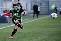Giacomo Raspadori of US Sassuolo in action during the Serie A football match between US Sassuolo and Atalanta BC at Citta del Tricolore stadium in Reggio Emilia (Italy), May 2nd 2021. Photo Andrea Staccioli / Insidefoto