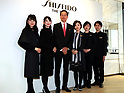 SHISEIDO THE STORE opening event in Ginza