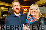 Brian O'Sullivan and Mary Griffin enjoying the evening in Sean Óg's Bar on Friday
