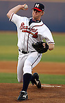19 April 2005: RHP Blaine Boyer of the Mississippi Braves, Class AA affiliate of the Atlanta Braves, taken at Trustmark Park in Pearl, Miss.  Photo by Tom Priddy/Four Seam Images