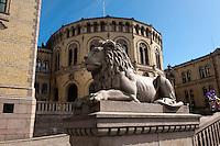 Norwegen, Oslo, Stortinget (Parlament)