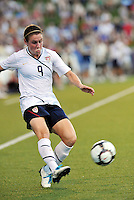 Heather O'Reilly...USWNT tied Sweden 1-1 at Morison Stadium, Nebraska.