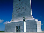 Wright Brothers National Memorial, NC<br /> The Wright Brothers memorial located on Big Kill Devil Hill is a 60-foot pylon on gray granite