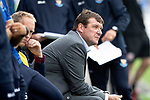 Montrose v St Johnstone…21.07.18…  Links Park    League Cup<br />Saints boss Tommy Wright<br />Picture by Graeme Hart. <br />Copyright Perthshire Picture Agency<br />Tel: 01738 623350  Mobile: 07990 594431