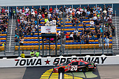 #20: Christopher Bell, Joe Gibbs Racing, Toyota Camry Ruud takes the checkered flagged the win