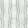 Danube, a waterjet mosaic shown in Chalcedony, Quartz, and Moonstone jewel glass, is part of the Silk Road® collection by New Ravenna.