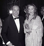 Darren McGaven and Kathie Browne attends the Friars Club honored Cary Grant as their Man of the Year on May 16, 1982 at the Waldorf Astoria in New York City.