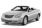 Front three quarter view of a 2008 Chrysler Sebring Convertible.