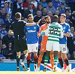 12.05.2019 Rangers v Celtic: Wes Foderingham and Odsonne Edouard