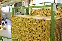 Staves. Cooperage, barrel manufacturing, Cadus, Louis Jadot, Ladoix, Beaune, Burgundy, France