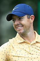 4th September 2020, Atlanta GA, USA;  Rory McIlroy smiles prior to the first round of the TOUR Championship  at the East Lake Golf Club in Atlanta, GA.