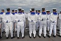 - sailors on Garibaldi aircraft carrier in navigation toward Lebanon in order to participate to U.N. peace mission....- marinai a bordo della portaerei Garibaldi in navigazione verso il Libano per partecipare alla missione di pace dell'ONU
