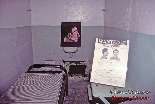 Fran Lee Morris's Cell, In Alcatraz Prison