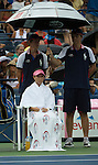 Rain delays Venus, Jie Zheng at 15-15 in the first set